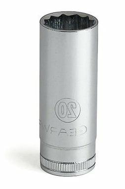 GearWrench 80826 1/2-Inch Drive 12 Point Deep Socket 30mm