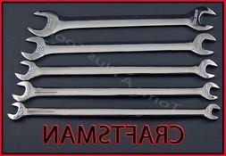 CRAFTSMAN HAND TOOLS 5pc FULL POLISH SAE Thin Head Tappet Op