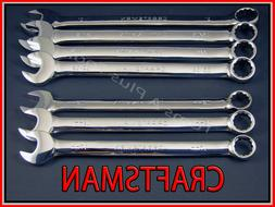 CRAFTSMAN HAND TOOLS 7pc FULL POLISH Long Beam SAE METRIC Co