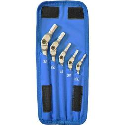"Hex Pro Pivot Head Inch Hex Wrench Set 1/8""-3/8"", 8 Pieces,"