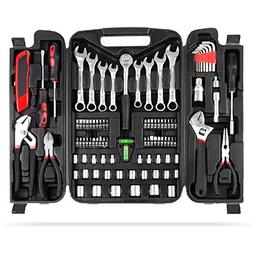 MVPOWER 95 Piece Home Mechanics Repair Tool Kit,General Hous