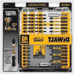 Dewalt Impact Drill Cordless Power Kit Accessories Bit Set M