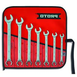 Proto J3700A 7pc Combination Flare Wrench Set MADE IN USA NE