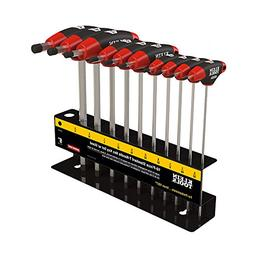 Klein Tools JTH610E SAE Journeyman T-Handle Set with Stand,