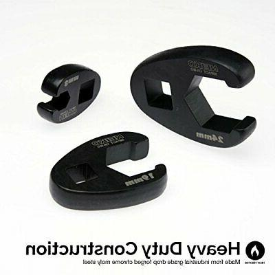 """Neiko 03324A and 1/2"""" Metric Crowfoot Wrench"""