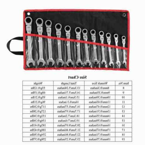 12Pc Combination Wrench Spanner