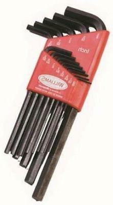 13213 JH Williams Ball End Hex Key Set, 13-Piece