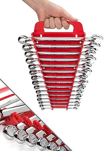 TEKTON Wrench with Store and Go Keeper, - 22 15-Piece | 18792