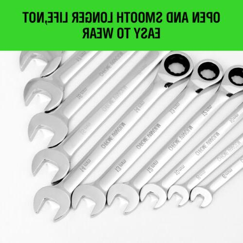 20pc Wrench Flat Set Inch & Case