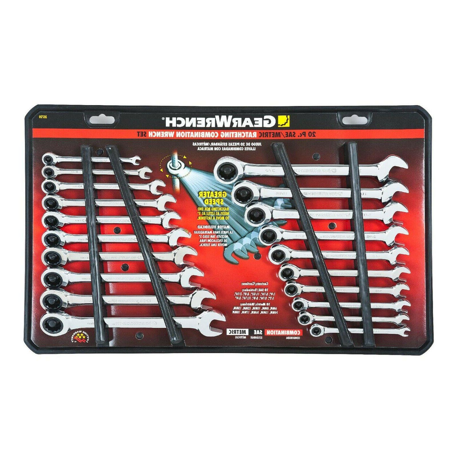 20pc Gearwrench Set New!