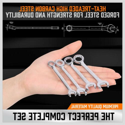 20PCS Combination Ignition Spanner Tools Metric SAE