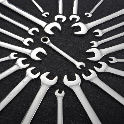 22 Pieces Wrench Set finish SAE
