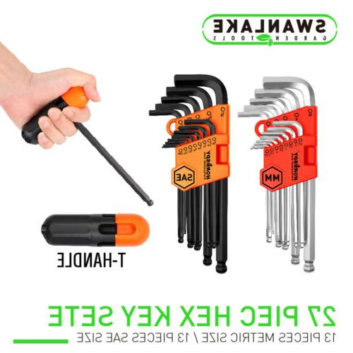 26 allen wrench set hex key set