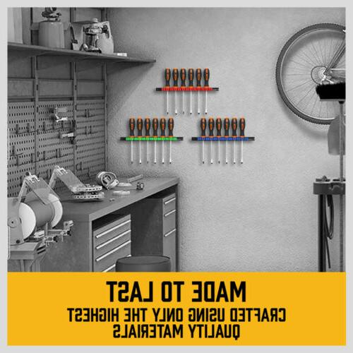 3-Piece Wrench ABS Wall Mount 14Pair