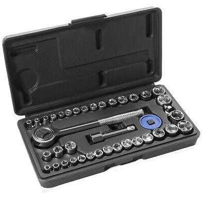 40pc sae and metric sockets set 1