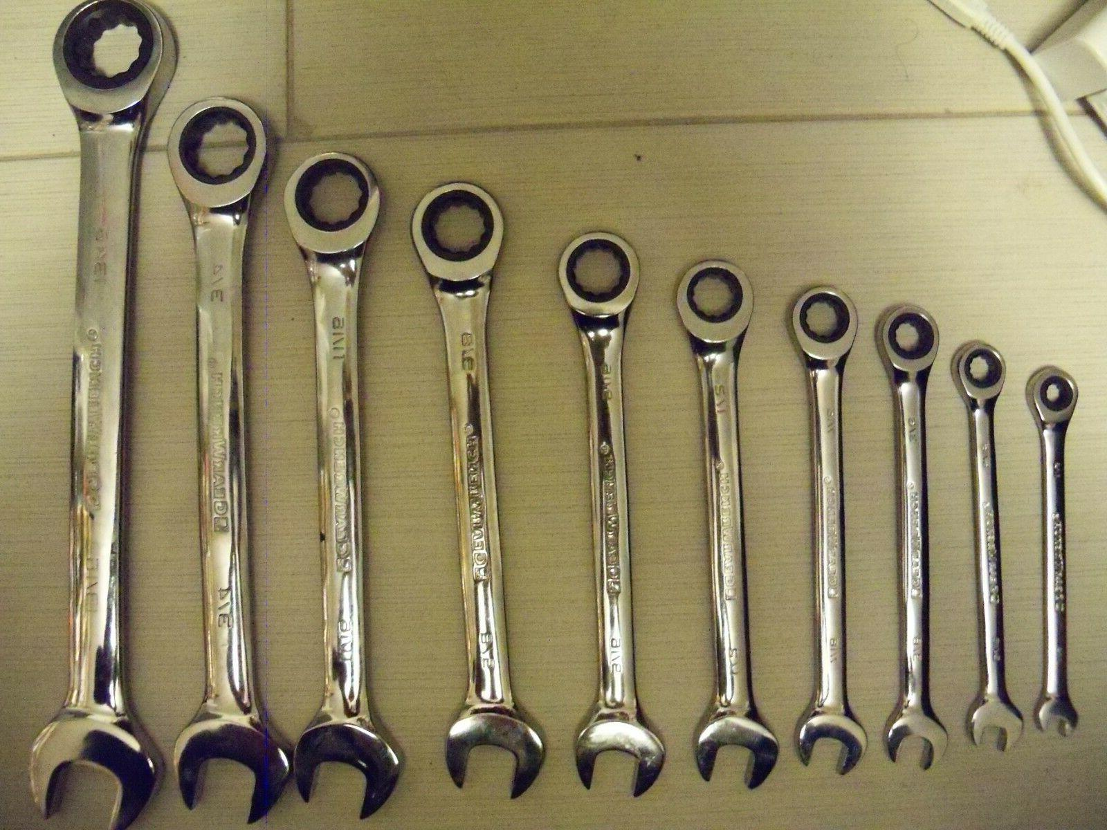 9317 3 ratcheting combination wrench set 7