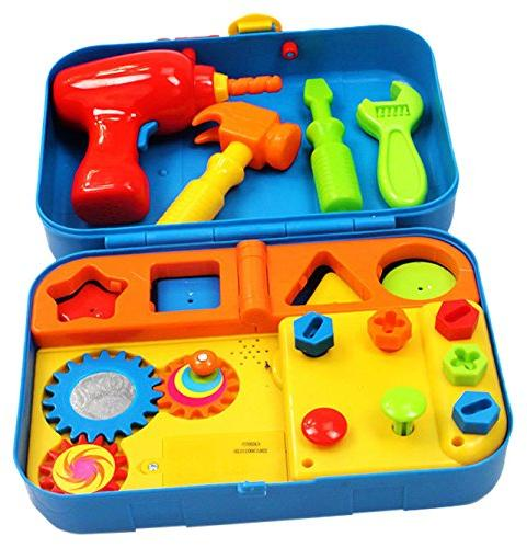 Kidoozie Cool Tools Activity Set - Pretend Play, Shape Sorti