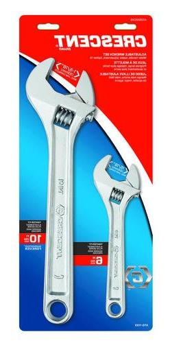 NEW AC2610VS CRESENT ADJUSTABLE WRENCH SET  NEW