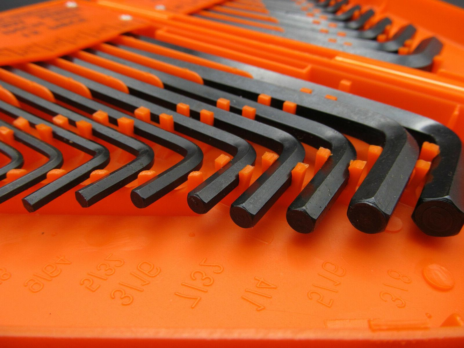 0PC SAE METRIC Allen Wrench Hex Case Tool Kit