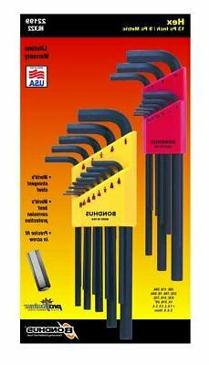 Allen Wrench Set Bondhus Protanium Steel Ball End L Shape 2