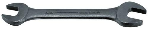 black oxide open wrench