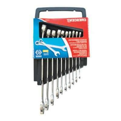Crescent CCWS2 SAE Combination Wrench Set, 10 Piece