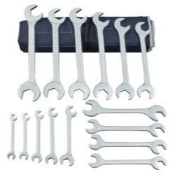 15 Piece Chrome Angle Wrench Set Tools Equipment Hand Tools