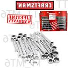 combination ratcheting wrench set metric