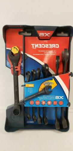 CRESCENT Brand X6 7pc Combination Wrench Set- NEW- Free Ship