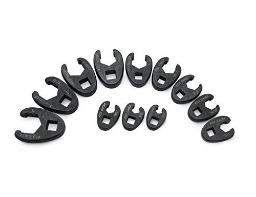 Crowfoot Wrench Set SAE 12-Piece