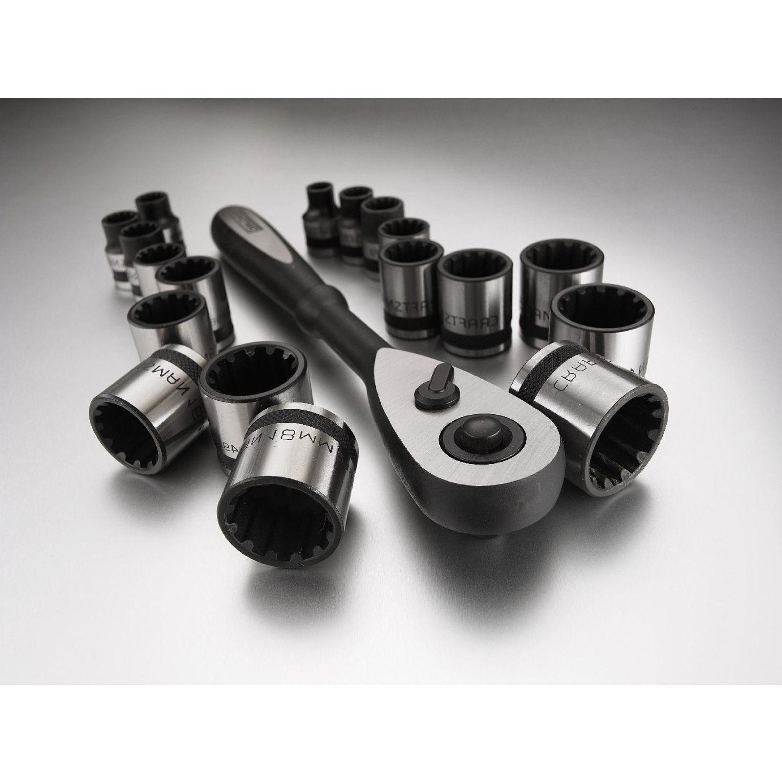 Craftsman Inch and Metric Socket Wrench Set