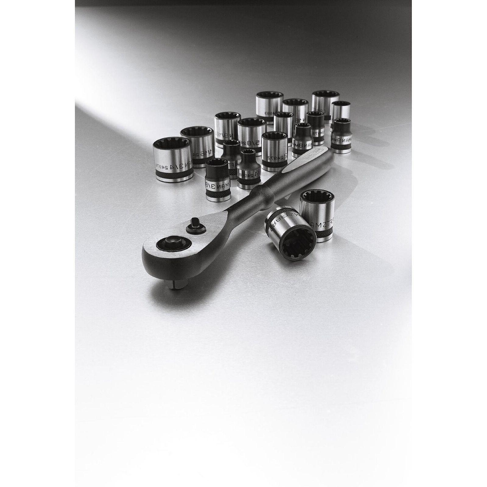 Craftsman 19-piece Inch and Socket Wrench