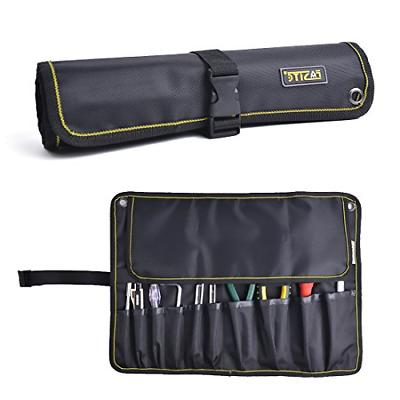 fasite 10 pockets tool roll wrench pouch