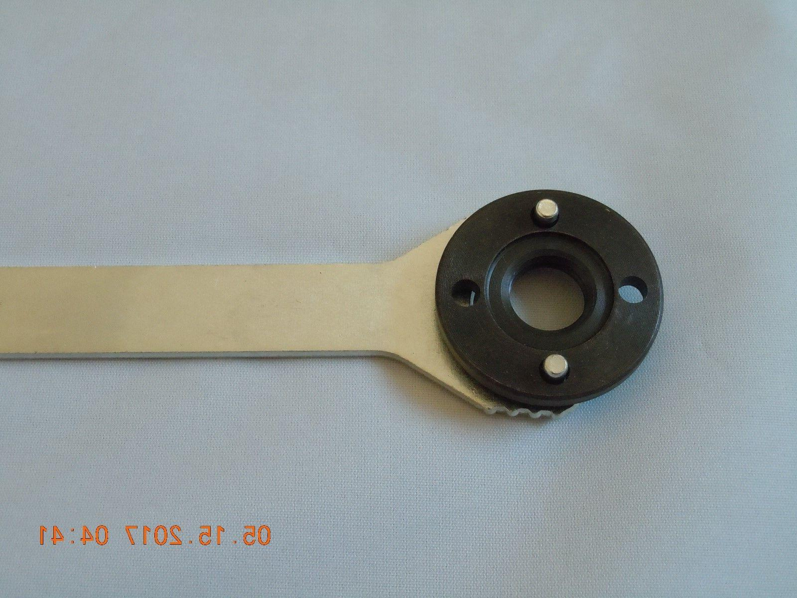 Replacement Grinder Wrench and Clamp Nut 2 pcs Set