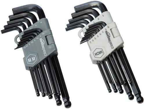 AmazonBasics Hex Key / Allen Wrench Set with Ball End - 26 P