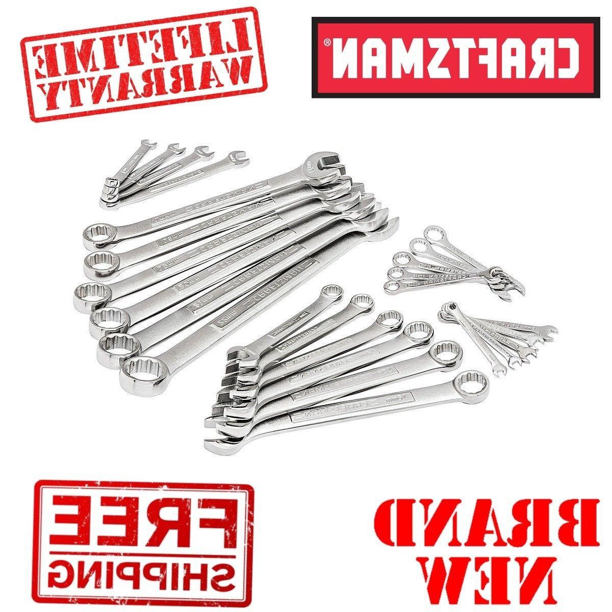 metric combination wrench set 12pt
