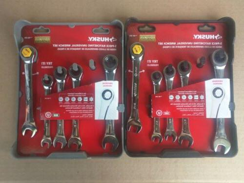 new 10 piece ratcheting universal wrench sets