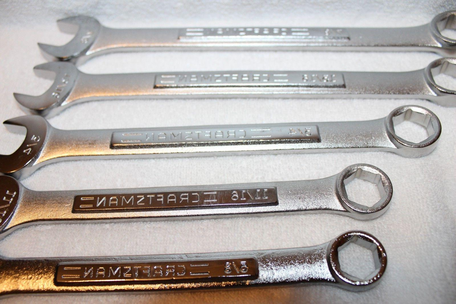 NEW Craftsman Combination Wrench SAE