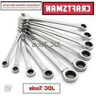Craftsman 10 pc Polished Metric MM Combination Ratcheting Wr