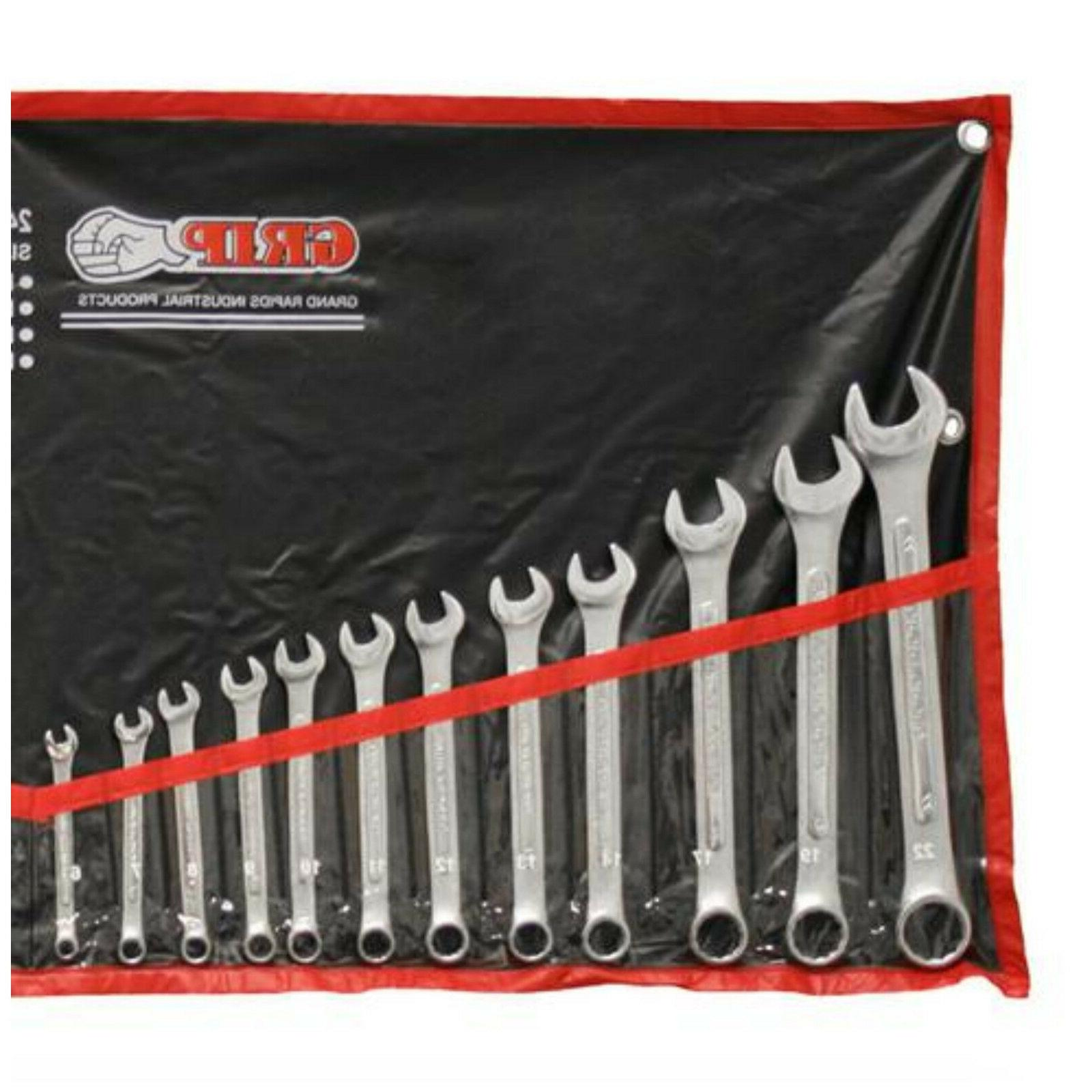 SAE Metric Set 24 Piece Kit Tool Box