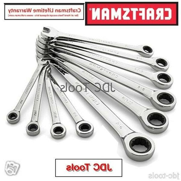 Ratcheting Ratchet Wrench Set Inch Standard