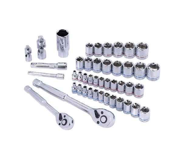 WORKPRO Drive Wrench Tools Kit Steel
