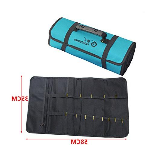 Socket Pouch Electricians Storage Waterproof Oxford Carrying Handle