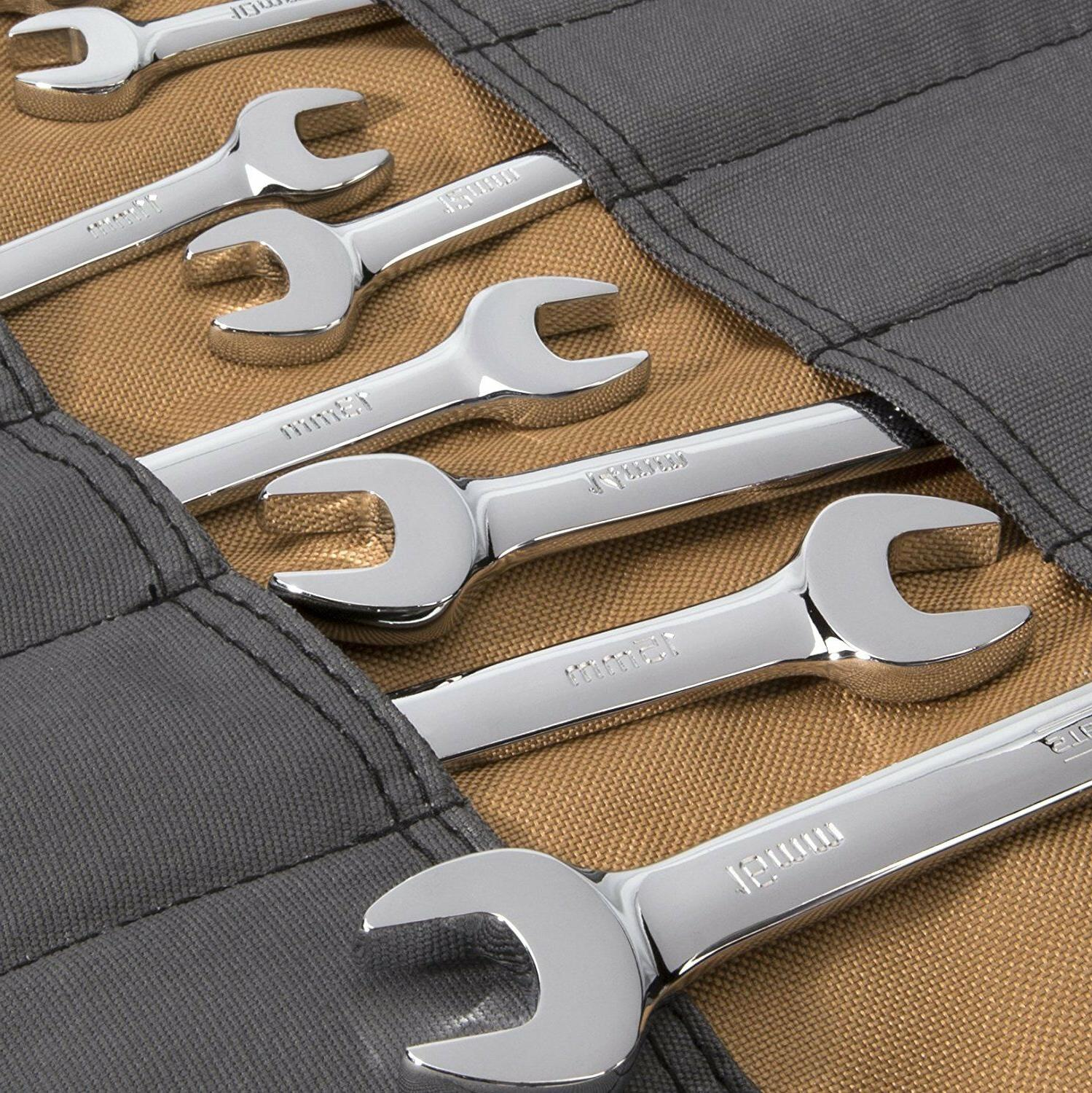 Tool roll for GearWrench 20 pc ratcheting combination wrench mo Flaps