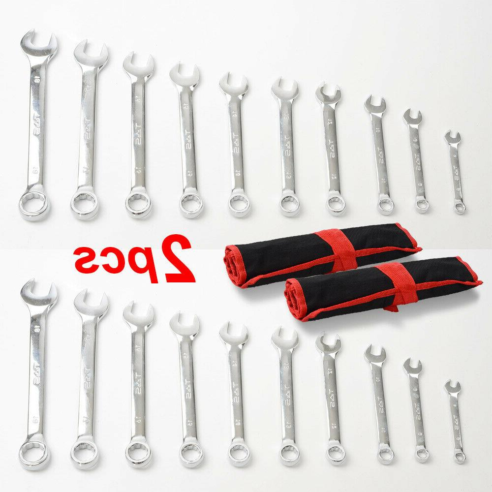 TS Set Pieces with Steel Tools Open End 6-18mm