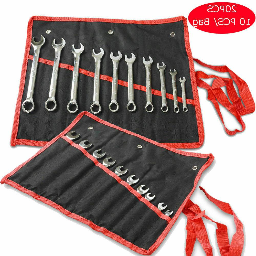 wrench set 20 pieces with bag tools
