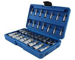 WINTOOLS Master Hex Bit Set/32Pcs SAE & Metric Socket Set St