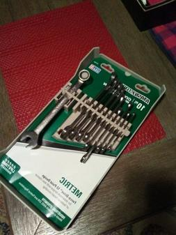 Masterforce combination wrench set metric 7-18mm 10 piece ma