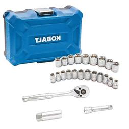 24 Piece Mechanics Tool Set - SAE & Metric