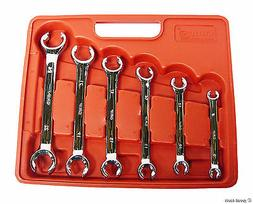 Grip 6 Piece Metric Flare Nut Wrench Set